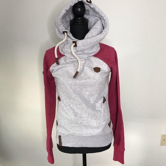 Naketano Every World Pullover Hoodie. Naketano hoodie. Comfy